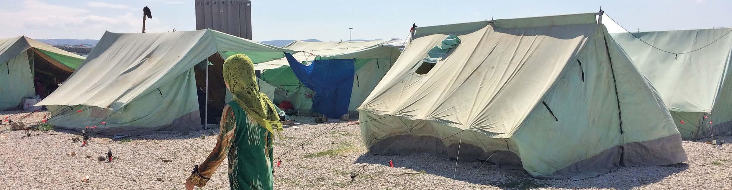 2017 – Dag 14 (9. juni) – En syrisk flyktningfamilie venter