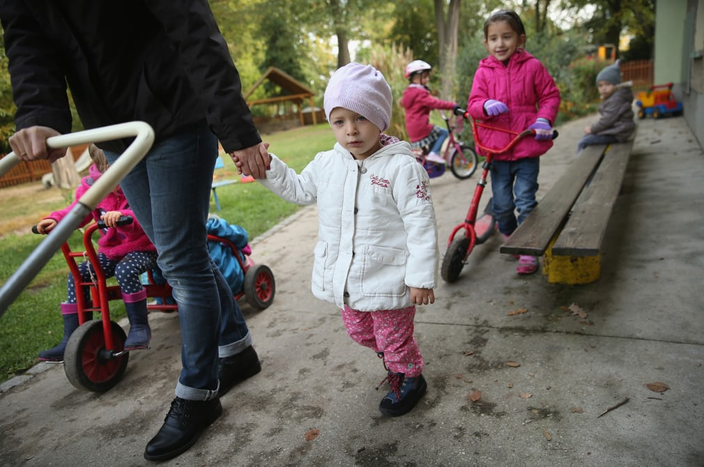 Chechen refugees in Germany
