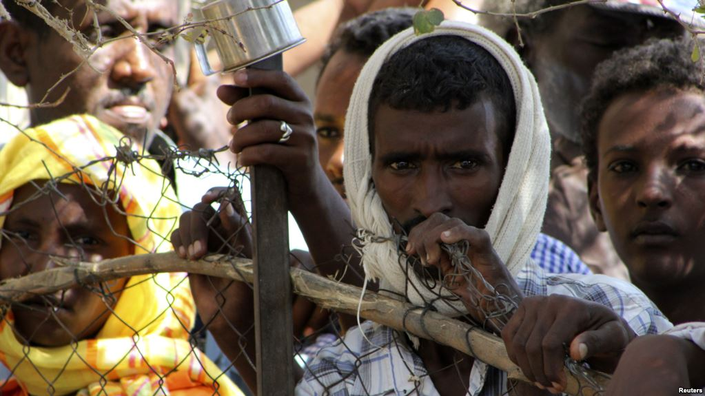 Shagarab Eritrean Refugees camp at Kassala in East Sudan
